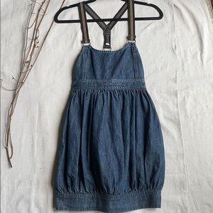 Ralph Lauren Suspenders Jean Dress size 0